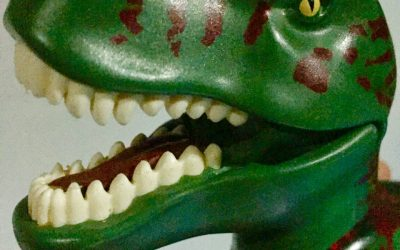 """The dino that replaced the pacifier – the """"Baby-Soother Fairy"""" on demand"""